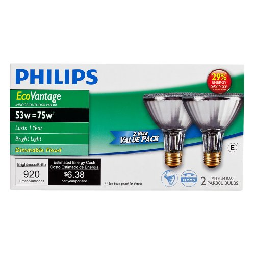 Philips 429365 Halogen PAR30L 75 Watt Equivalent 25 Degree Flood Light Bulb by Philips (Image #3)