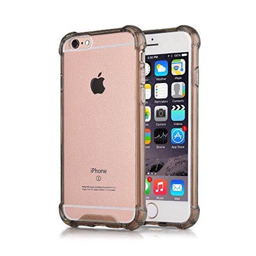 [iPhone 6S Plus Case iPhone 6 Plus Case CaseHigh Shop Flip Cases Protective Shell TPU Trim Bumper Clear Flexible Soft TPU Cover Anti-Scratch Fingerprint for iPhone 6 Plus (2014) / 6s Plus] (Hair Bows Finger)