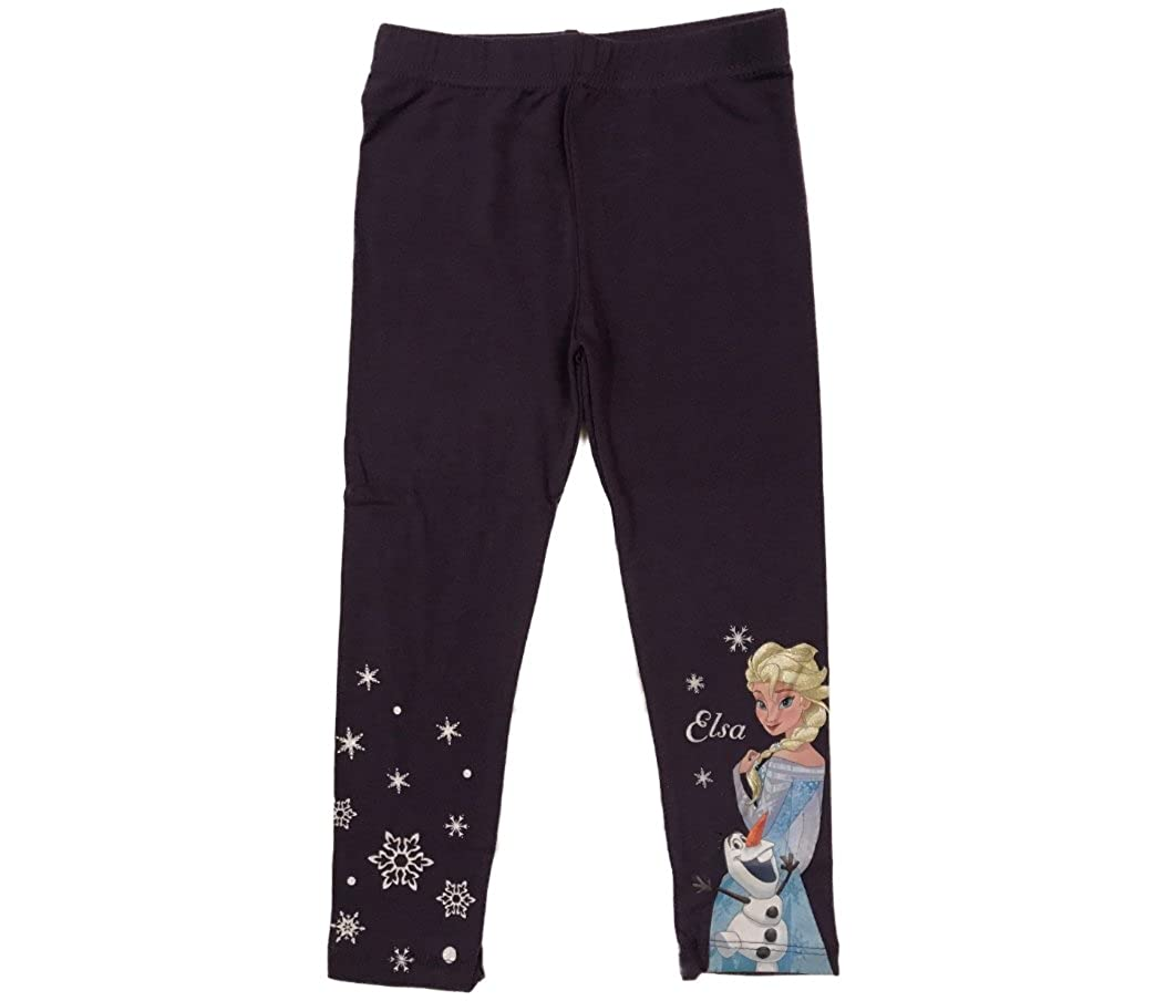 Leggings Pantaloni Bambina Disney Frozen Anna Elsa Olaf