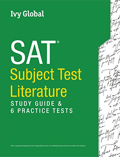 Pdf Test Preparation SAT Subject Test in Literature: Study Guide & 6 Practice Tests