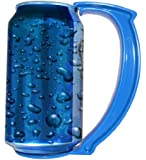 GoPong The Can Grip - Instantly Turn Your Can Into a Mug Handle, Set of 5, 12-Ounce (Blue)