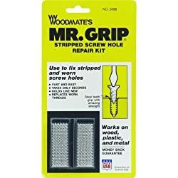 Woodmate 2498 Mr. Grip Screw Hole Repair Kit