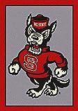 NCAA Team Spirit Door Mat - North Carolina State Wolfpack (Mascot), 56'' x 94''