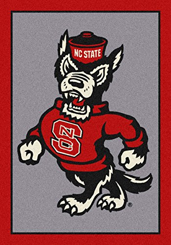 NCAA Team Spirit Door Mat - North Carolina State Wolfpack (Mascot), 56'' x 94'' by Millilken