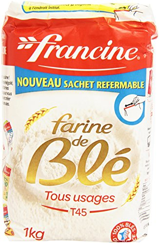 Francine Farine de Ble Tous Usages - French All Purpose Wheat Flour - 2.2 lbs