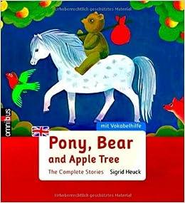 Book Pony, Bear and Apple Tree