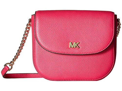 MICHAEL Michael Kors Half Dome Crossbody (Ultra Pink)