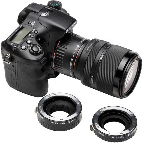 Vello Auto Extension Tube Set for Sony Alpha by VELLO (Image #5)