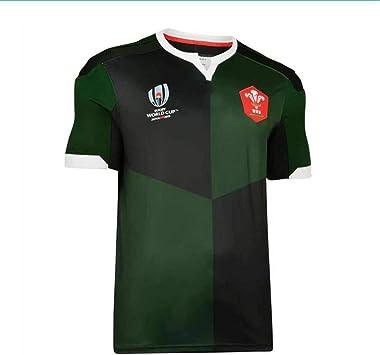 HBRE Camiseta De Rugby,Welsh Rugby,Ropa De FúTbol Visitante ...