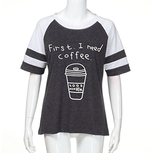 Bekleidung Shirt155 Damen SANFASHION SANFASHION Donna Dunkelgrau3 Ballerine PqfTf1