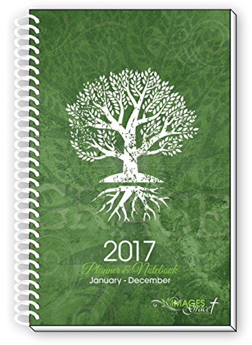 2017 Tree of Life Inspirational Christian Daily Planner January 2017 Through December 2017 Calendar Year Day Weekly Monthly Views