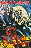 1 X IRON MAIDEN POSTER - THE NUMBER OF THE BEAST - 24X36