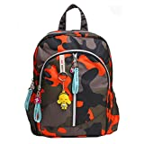 Children Lightweight Backpack Bag Pack Bags for School/Travel, Orange camouflage