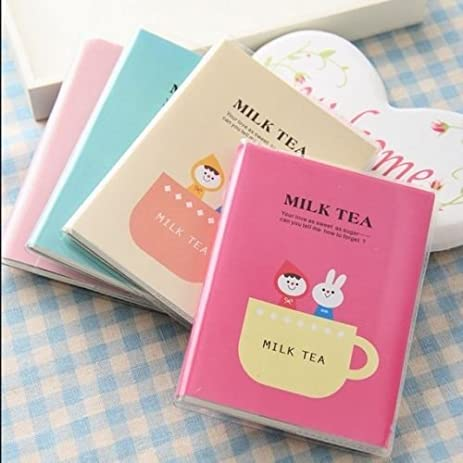 amazon com mazimark milk tea 1pc mini pocket planner notebook