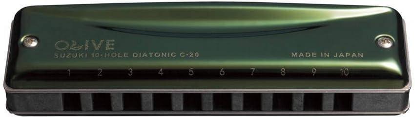 Suzuki SU-C-20-Db - Armónica en Re bemol: Amazon.es: Instrumentos ...