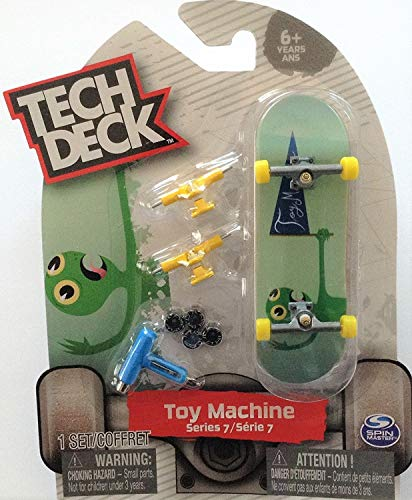 Tech Deck TOY MACHINE Serie 7 Green Turtle Ultra Rare # 20089652