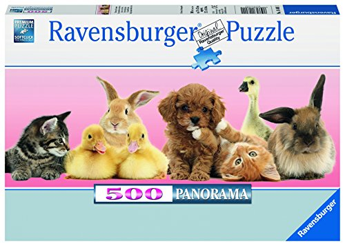 Panoramic 500 Piece Puzzle - Ravensburger Animal Friends Jigsaw Puzzle (500 Piece)
