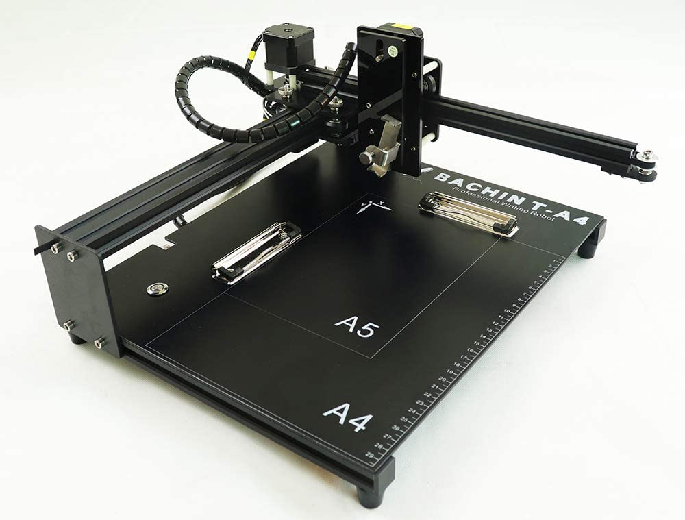 CNC Router Drawing Robot Kit Writer XYZ Plotter iDraw Hand Writing Robot Kit Open Source for Maker/Geek, Working Area A4