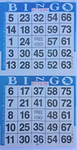 Top 10 best bingo sheets 2 cards: Which is the best one in 2019?