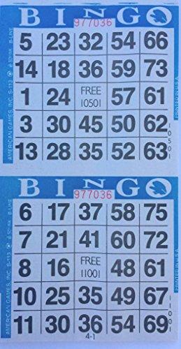 3000 Paper Bingo Cards -