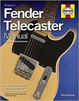 Amazon.fr - Fender Telecaster Manual Paperback - Paul Balmer - Livres 70c6fd7ecdda