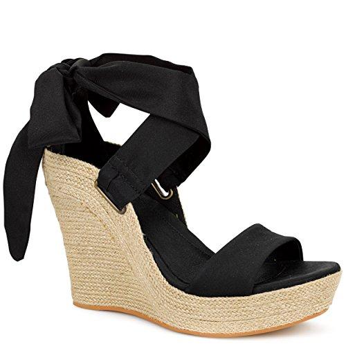 Women's Wedge Sandals Black Jules Ugg Australia Exw4Zqta