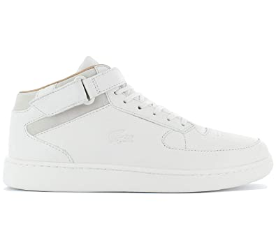 5a53149edfd802 LACOSTE - Sneakers - Men - Scratch Turbo 2 White High-Top Sneakers for men