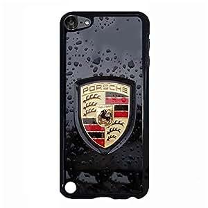 Exquisite Moulded Ipod Touch 5th Generation Cover Case,Famous Pattern Porsche Luxury Flag Cell Phone Case Porsche Logo
