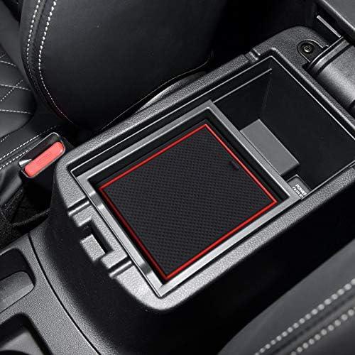 TAYDMEO 16 pcs Car Styling Gate Slot Pad Int/érieur Porte Groove Tapis Antid/érapant poussi/ère Tapis Accessoire pour Mitsubishi ASX 2020