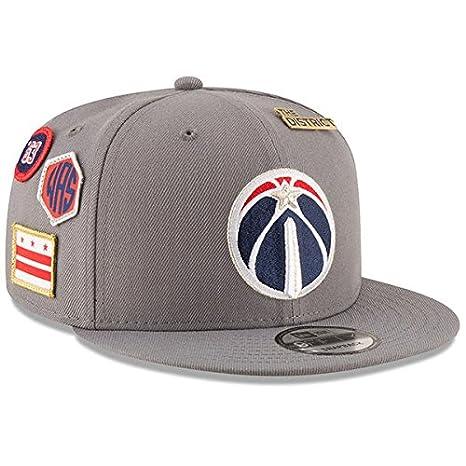 Amazon.com   New Era Washington Wizards 2018 NBA Draft Cap 9FIFTY ... 8a748d386bc
