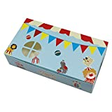 5.9x3.1x1.4 inch Special Design Cute Craft Paper Egg Tart Baking Box Cake Chocolate Candy Biscuit Kraft Paper Box DIY Handmade Gift Box (cute pattern / 300 Pcs)