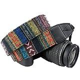 Multi Color Neck Strap, Shoulder Belt Strap, Vintage Camera Straps for Canon Fuji Nikon Sony Olympus Samsung Pentax Olympus Cameras