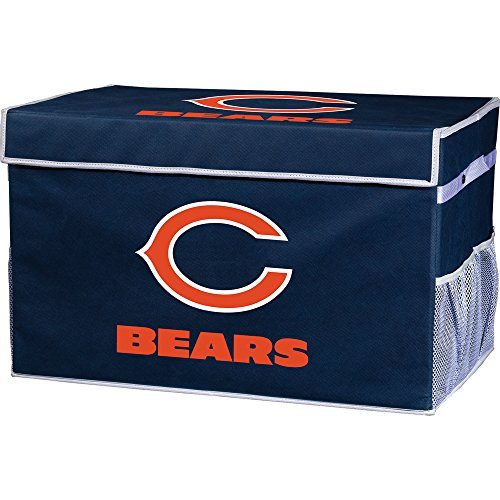 Franklin Sports NFL Chicago Bears Collapsible Storage Footlocker Bins - ()