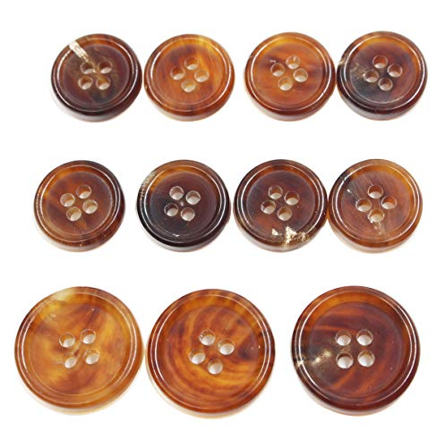 Used, 11 Pieces Genuine Natural Horn Blazer & Suits Button for sale  Delivered anywhere in USA