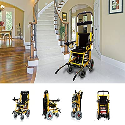 Mobility Scooter 350 lbs-Power Wheelchair- Electric Folding Mobility Aid-Can be as Lifting Devices,Stretcher