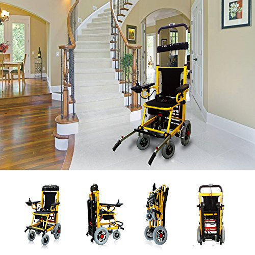 Mobility Scooter 350 lbs-Power Wheelchair-Stair Lift- Electric Folding Mobility Aid-Can be as Lifting Devices,Stretcher (Wheeled Stretcher)