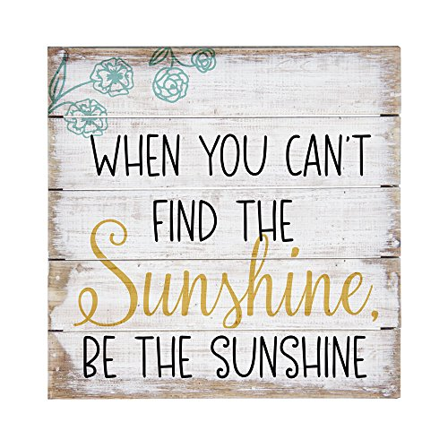 Sincere Surroundings PET12848 Be The Sunshine-8 x 8, White