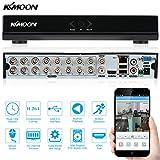 KKmoon 16CH H.264 HD DVR 960H D1 CCTV Network Mobile Motion