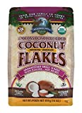 organic dehydrated coconut - Wilderness Family Naturals Small Coconut Flakes 1 lb - Unsweetened, Certified Organic, Raw