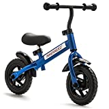 10' Classic Balance Bike Walking Bicycle No-Pedal Cycling For Kids Ages 2 to 5 years old
