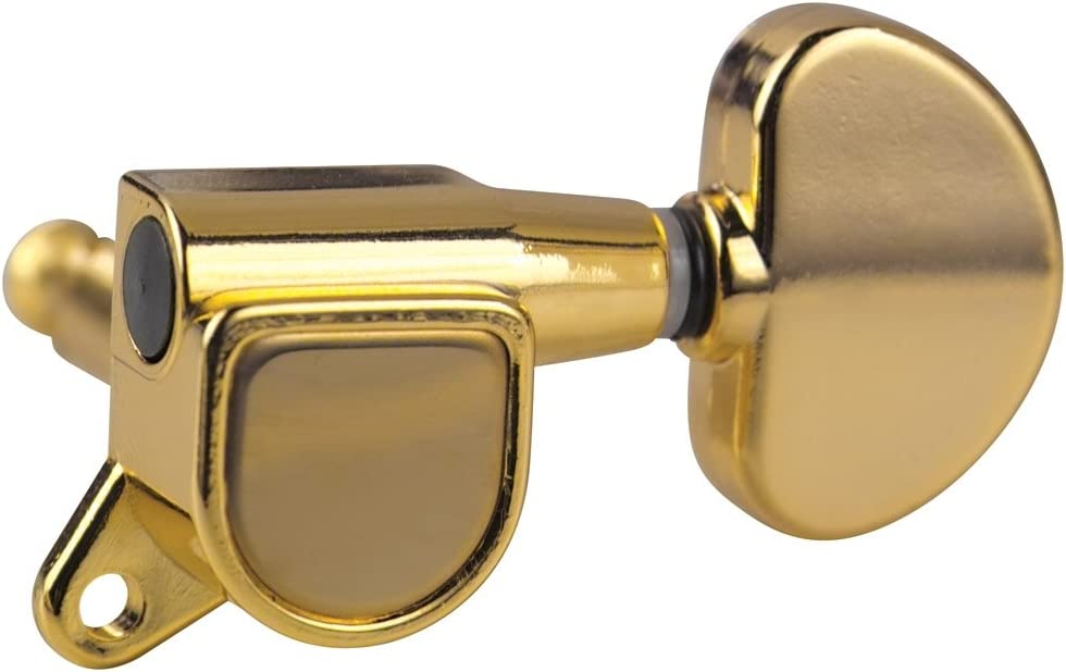 - Chrome 6 Individual Golden Gate F-2207 Deluxe Acoustic Guitar Tuners 3+3