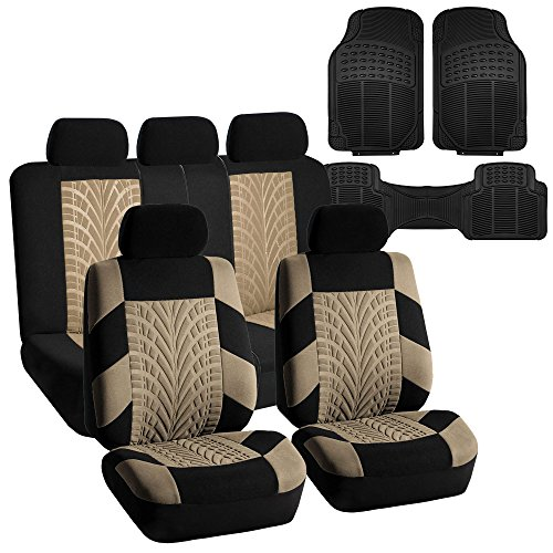 car seat cover floor set beige - 3