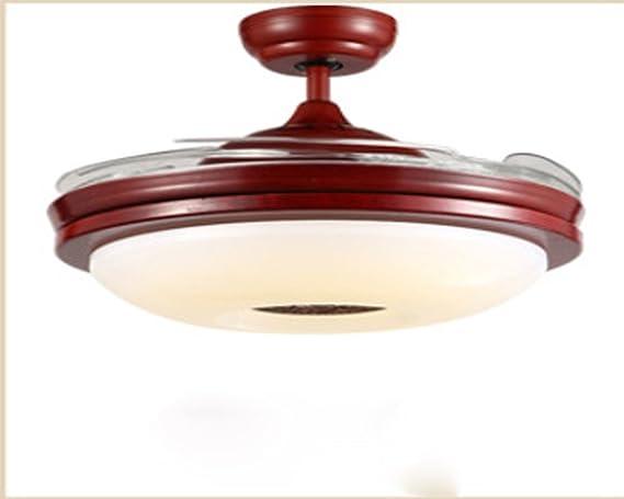 Abanico chino luz invisible, ventilador de techo ...