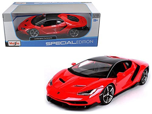 NEW 1:18 W/B MAISTO SPECIAL EDITION COLLECTION - RED LAMBORGHINI CENTENARIO Diecast Model Car By Maisto