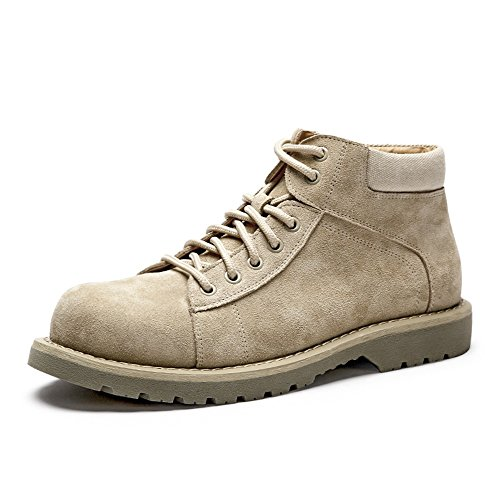 Men's Shoes Feifei Winter Fashion Warm High Help Martin Boots (Color : 01, Size : EU39/UK6.5/CN40)