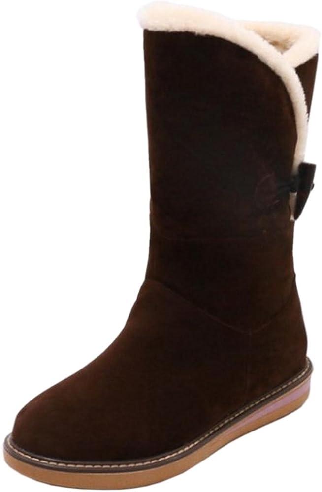 RAZAMAZA Women Boots Pull On Warm Lined