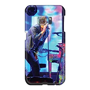 EricHowe Samsung Galaxy S6 Bumper Hard Phone Cover Provide Private Custom Trendy Coldplay Band Pictures [kvC17349DuEF]