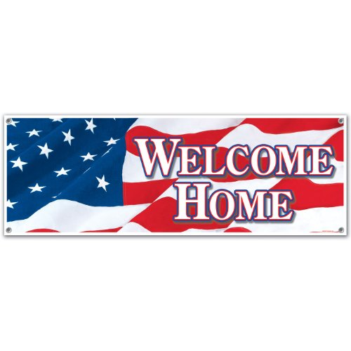 Welcome Banner Party Accessory count product image