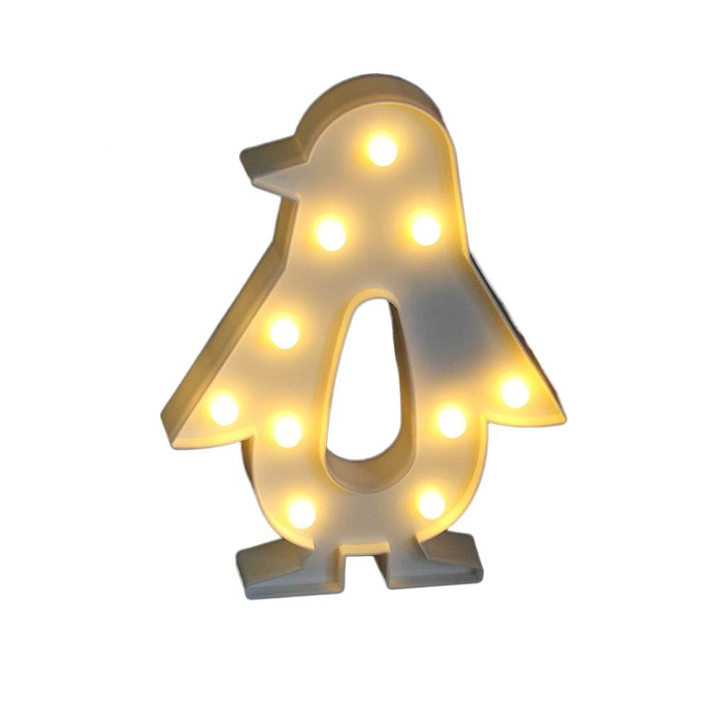 Amazon.com: LED Penguin Light,Kids Light Wedding Light for Birthday ...