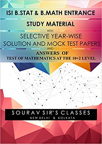 Amazon in: Buy STUDY MATERIAL FOR ISI B STAT / B MATH ENTRANCE +